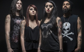 Картинка группа, metal, band, metalcore, estk, Caleb Clifton, Cisko Miranda, eyes set to kill, Alexia Rodriguez, …