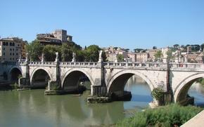 Картинка Рим, Италия, Тибр