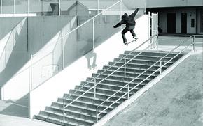 Картинка лестница, Ryan Smith, Скейтбординг, пирила