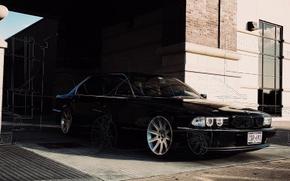 Картинка обои, бмв, Car, wallpapers, E38, BMW 750