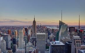 Картинка вид, New York, Manhattan