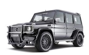 Картинка Hamann, AMG, g55, Mercedes Benz G55 AMG Supercharged