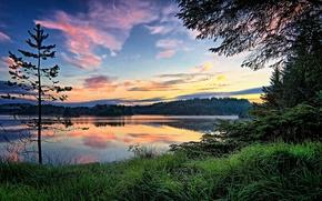 Картинка озеро, Норвегия, Norway, Storavatnet