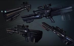 Картинка технологии, снайперская винтовка, Вооружение, автоматическое оружие