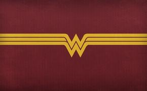 Картинка cinema, red, logo, Wonder Woman, yellow, movie, Prince, film, DC Comics, Diana, Gal Gadot, Justice …