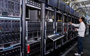 Картинка server, computers, operator