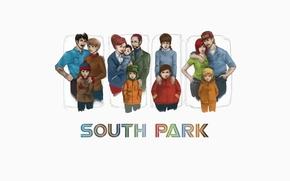 Картинка кенни, South Park, Южный Парк, картман, каил, саус парк, мултсериал, стэн