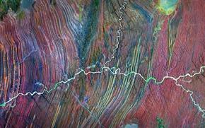Обои фото, Африка, NASA, Намибия, река Угаб