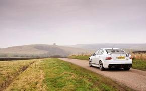 Обои машина, природа, туман, Vauxhall, VXR8