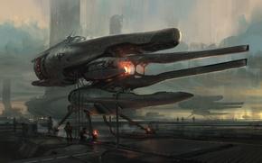 Картинка будущее, фантастика, арт, Sci-fi