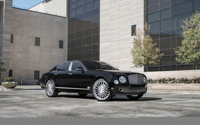 Картинка Bentley, мульсан, черный, Black, бентли, Mulsanne