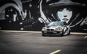 Картинка BMW, Тюнинг, БМВ, winter, Alpina, E38, arctic camo, camo, 7il