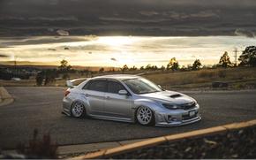 Обои Subaru, Impreza, WRX, STi, JDM, Stance, Low, BellyScrapers