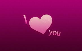 Обои любовь, надпись, день святого валентина, I love you, 14 февраля, valentine's day