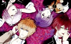 Картинка вампир, братья, Diabolik Lovers, Sakamaki