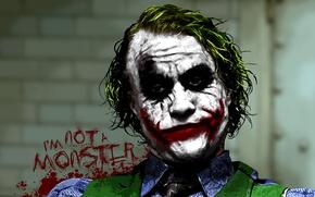Картинка джокер, joker, тёмный рыцарь