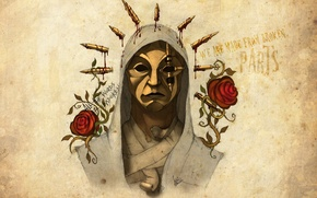Обои Hollywood Undead, artwork, Danny, Notes from the Underground