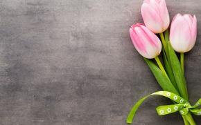 Картинка тюльпаны, pink, flowers, tulips, bouquet