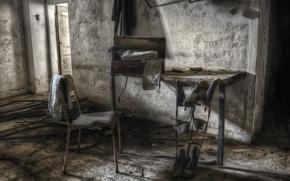 Картинка стол, комната, интерьер, стул