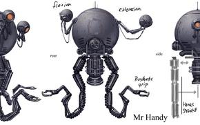 Картинка fallout, design, robots