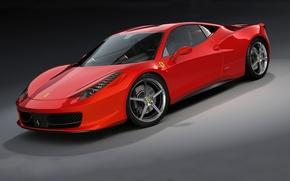 Картинка машина, Ferrari, 458 Italia, dangeruss