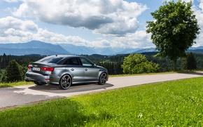 Картинка Audi, Tuning, Sedan, ABT, 2015, Audi S3, Audi Tuning, 2015 ABT Audi S3 Sedan