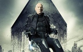 Обои Люди Икс, Days of Future Past, X-Men, Дни минувшего будущего, Patrick Stewart, Патрик Стюарт, Professor ...