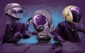 Картинка Music, Daft Punk, mass effect, art, tali zora