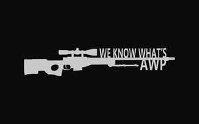 Картинка awp, sniper rifle, go cs, long range