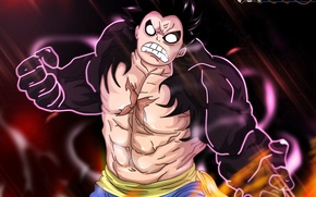 Картинка fire, battlefield, flame, game, One Piece, pirate, anime, captain, manga, japanese, oriental, strong, muscular, spark, …