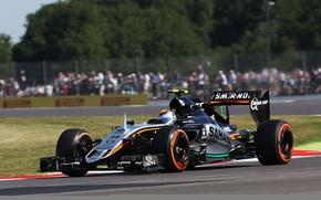 Картинка England, Force India, Silverstone, Sergio Perez, Britisch Grand Prix, VJM08.