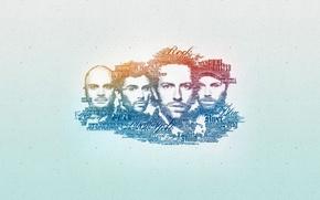 Картинка текстуры, музыкальная группа, Coldplay, Колдплей, музыкальные группы