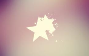 Картинка Минимализм, Звезда, Стиль