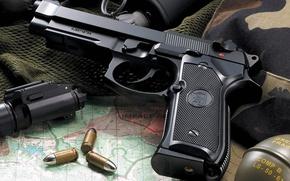 Картинка граната, патроны, M9A1, Airsoft, KJW