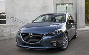 Обои седан, Mazda 3, Sedan, мазда