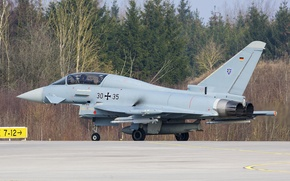 Обои EF.2000, Eurofighter, истребитель, многоцелевой