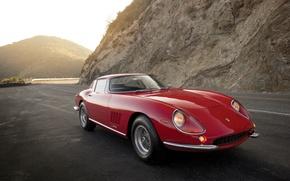 Картинка Ferrari, феррари, GTB, 1965, 275, Pininfarina