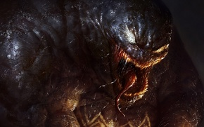 Картинка art, marvel, comics, venom, spiderman