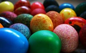 Картинка цвета, краски, яйца, пасха