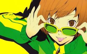 Картинка настроение, аниме, арт, очки