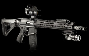 Картинка винтовка, штурмовая, assault rifle, AR-15