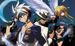Картинка Action, Anime, Science fiction, BlackCat