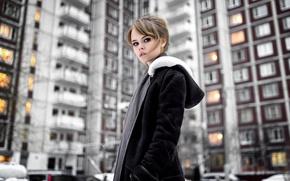 Картинка город, портрет, Настя, Анастасия Щеглова