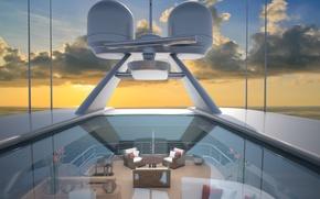 Картинка дизайн, стиль, интерьер, яхта, люкс, luxury yacht