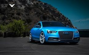 Картинка Audi, Blue, Vorsteiner, Tuning, Audi S5, 2015, Audi Cars, Audi Tuning, 2015 Vorsteiner Audi S5 …