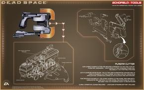 Обои Dead Space, work tool, plasma cutting machine