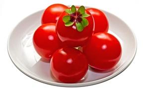 Картинка фон, помидоры, томаты, Lucky tomatos