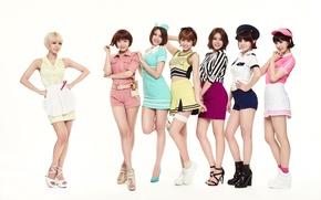 Картинка азиатки, AoA, Южная Корея, музыка, K-pop, девушки
