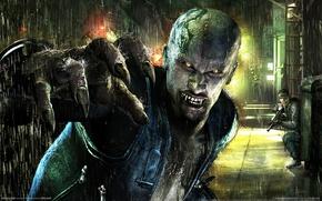 Обои вампир, vampire rain, дождь