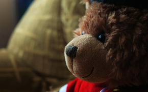 Картинка дети, обои, игрушка, мишка, bear, child, teddy bear, english